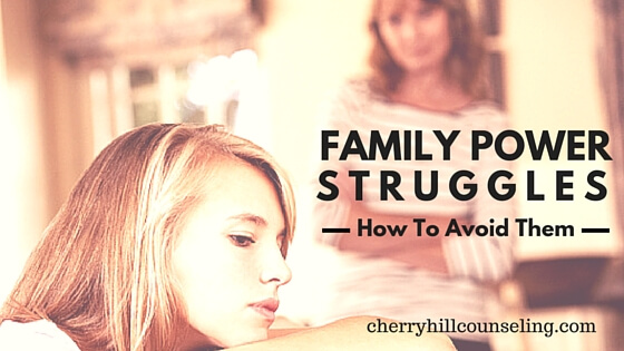 how to avoid power struggles with tweens