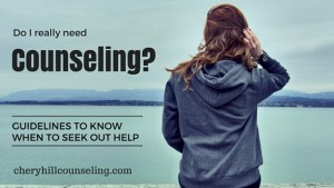 Read more about the article Do I Really Need Counseling?