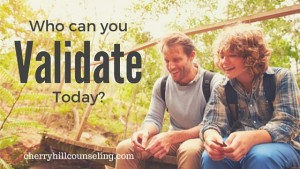 Read more about the article Who Can You Validate Today?