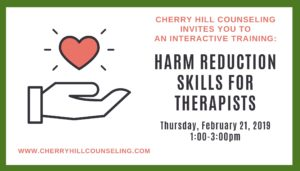 Read more about the article Harm Reduction Skills for Therapists
