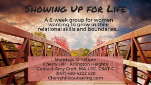 Read more about the article New Group: Showing Up for Life