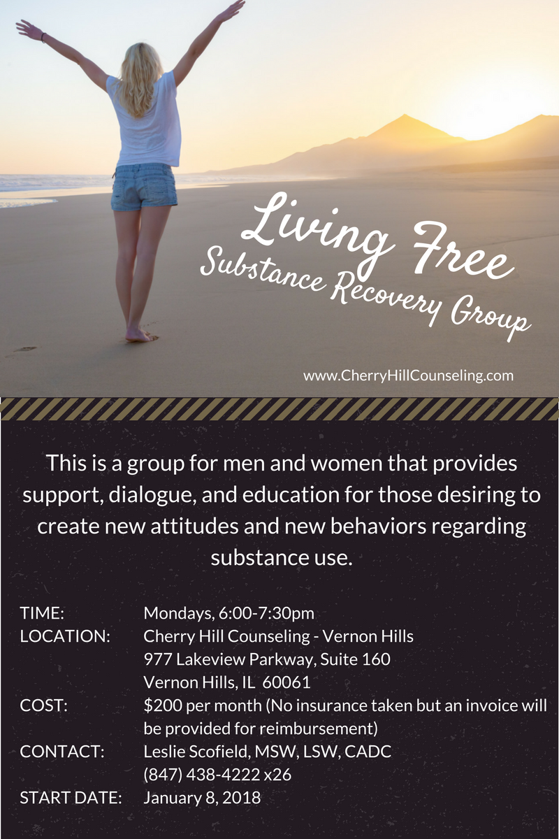New Group Living Free Substance Recovery Group Cherry