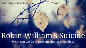 Read more about the article Robin Williams' Suicide: What can we do to prevent similar tragedies?