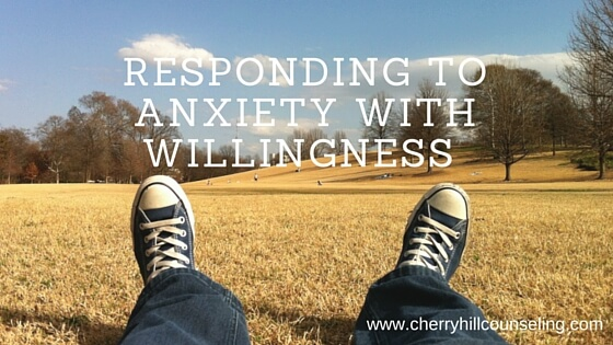 Read more about the article Responding to Anxiety With Willingness