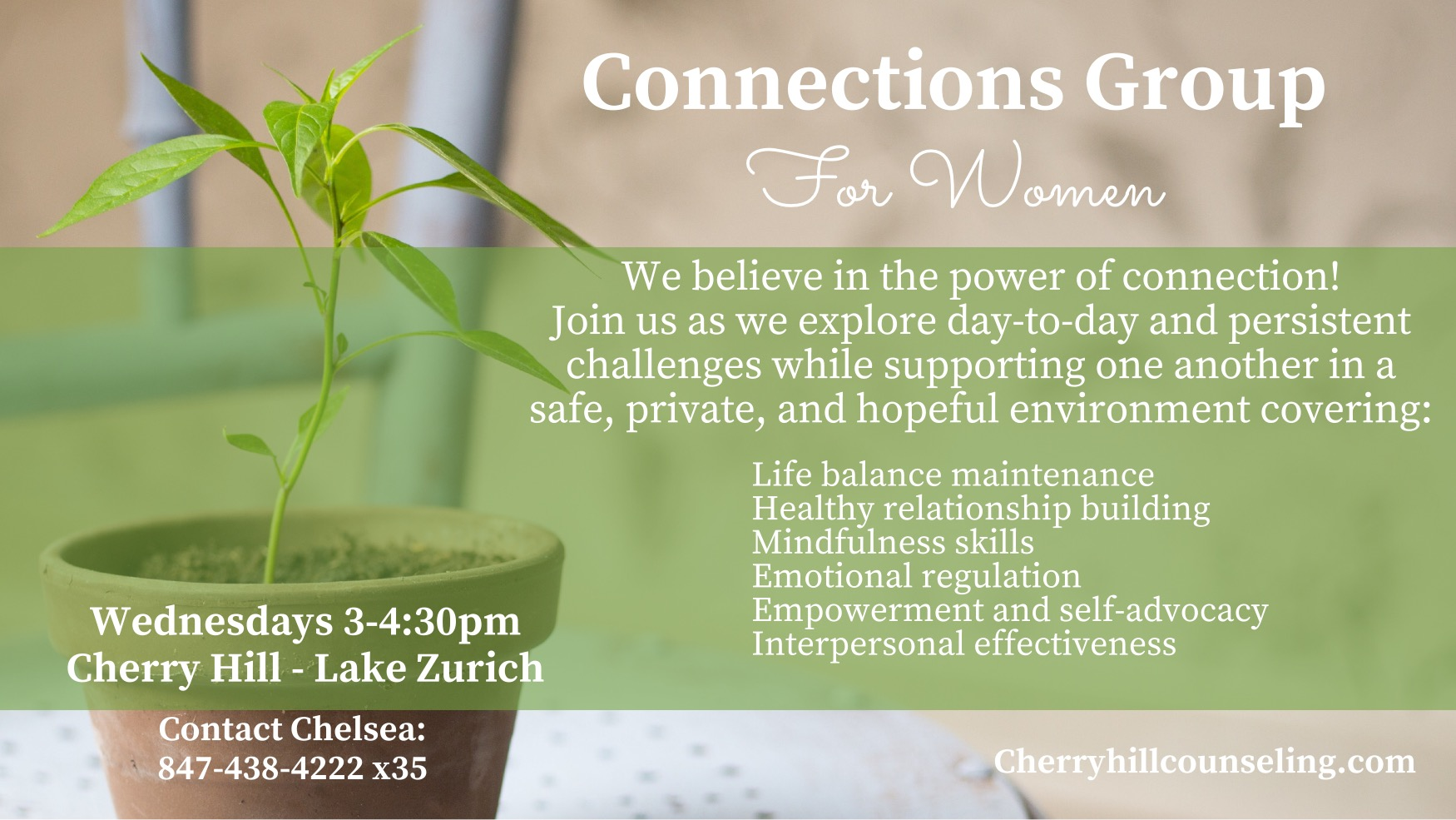 Read more about the article Connections Group for Women