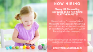 Read more about the article Now Hiring: Play Therapists