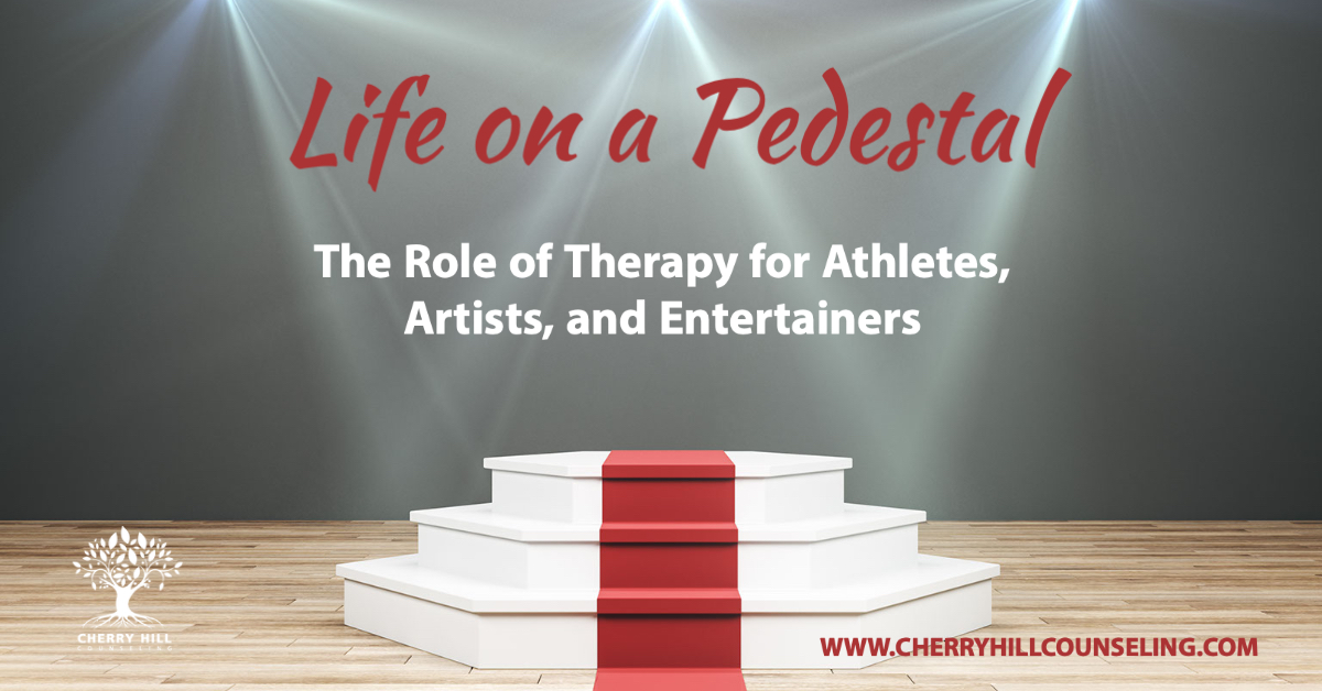Read more about the article Life on a Pedestal: The Role of Therapy for Athletes, Artists, and Entertainers